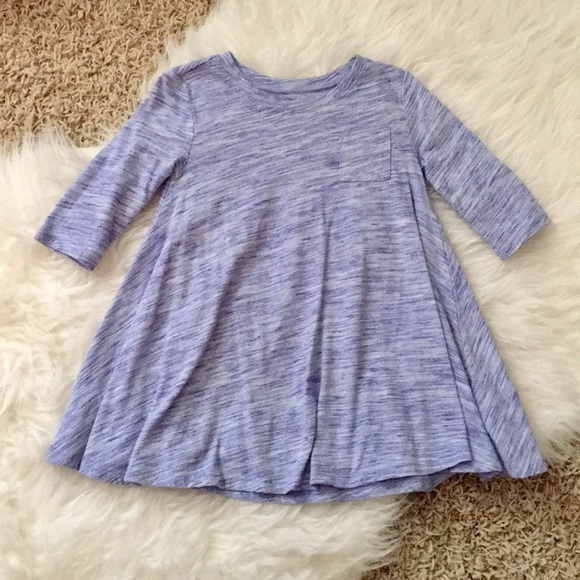 d07b1f2ebfb9 •Old Navy• Purple   White Swing Dress 3T